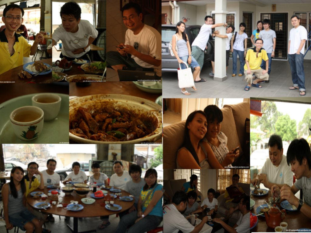 Pics during our BKT lunch