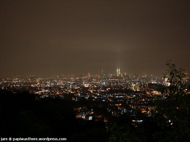 KL City @ night