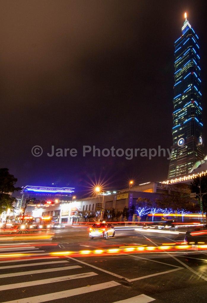 Late Nights with Taipei 101...