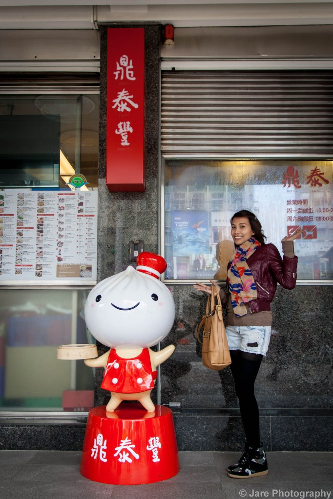 That's Din Tai Fung's official mascot... No. not the lady. :P