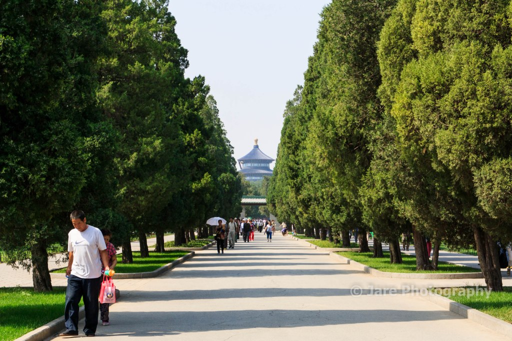 On the way to the Temple of Heaven